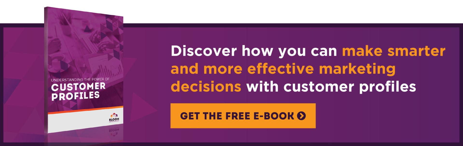 Using customer profiles to create restaurant marketing personas