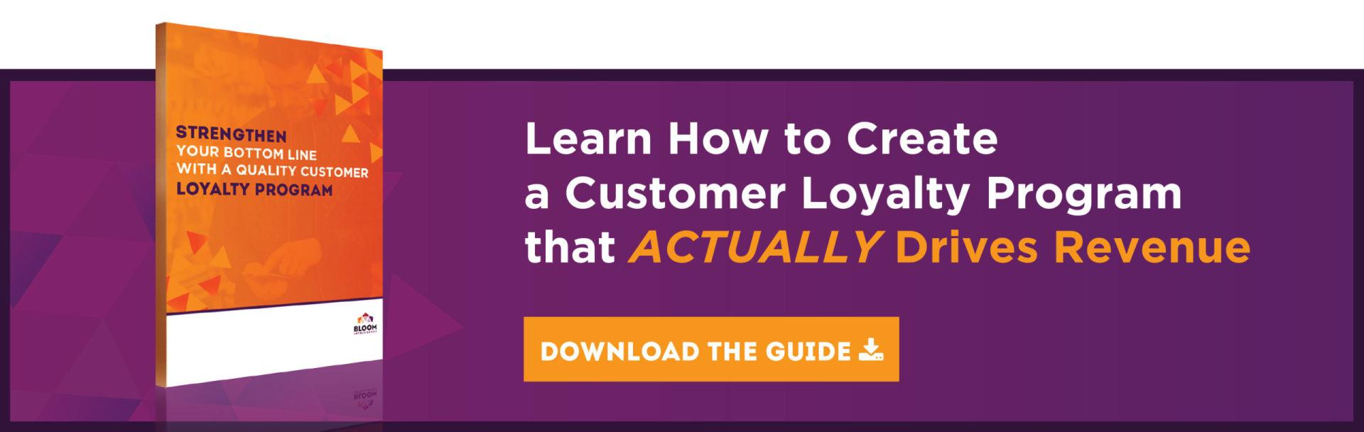 Restaurant Marketing Loyalty Programs